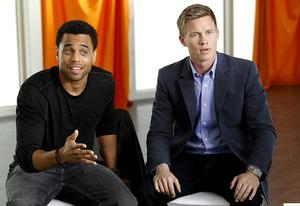 Michael Ealy and Warren Kole | Photo Credits: Hopper Stone/USA Network