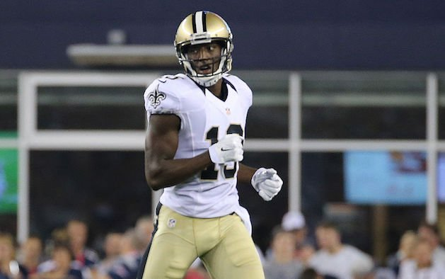 The fantasy spotlight is beaming on rookie Michael Thomas. (Getty)