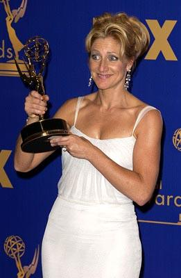 "Edie Falco Outstanding Actress in a Drama ""The Sopranos"" 55th Annual Emmy Awards - 9/21/2003"