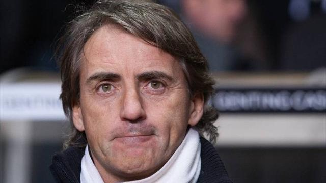 Premier League - Mancini baffled by City dismissal
