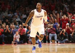 Glen Davis injured his ankle during the Clippers' series against the Spurs. (Getty Images)