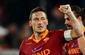 Top Totti leaves Juventus quaking