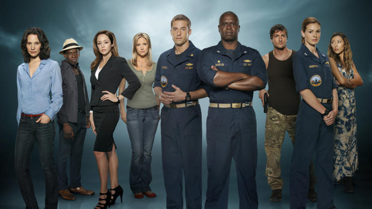The cast of ABC's 'Last Resort'