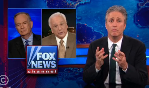 Jon Stewart Tells Bill O'Reilly to Stop Worrying About Loss of 'Traditional America'