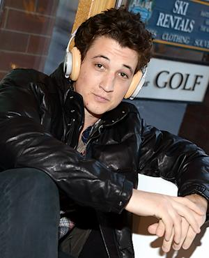 Miles Teller Plugs In At The Sundance Film Festival In Park City