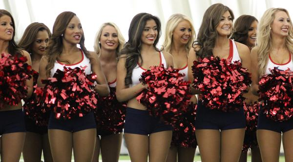 Houston Texans pick cheerleaders for upcoming season