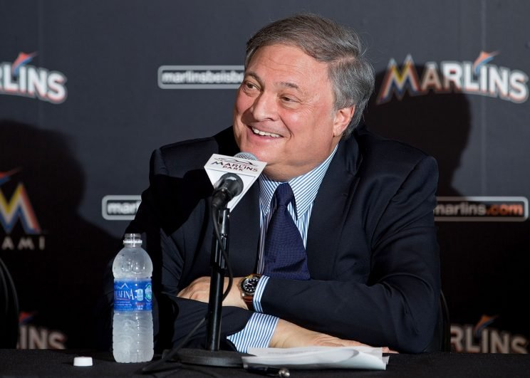 Jeffrey Loria thinks highly of his franchise. (Getty Images/Rob Foldy)