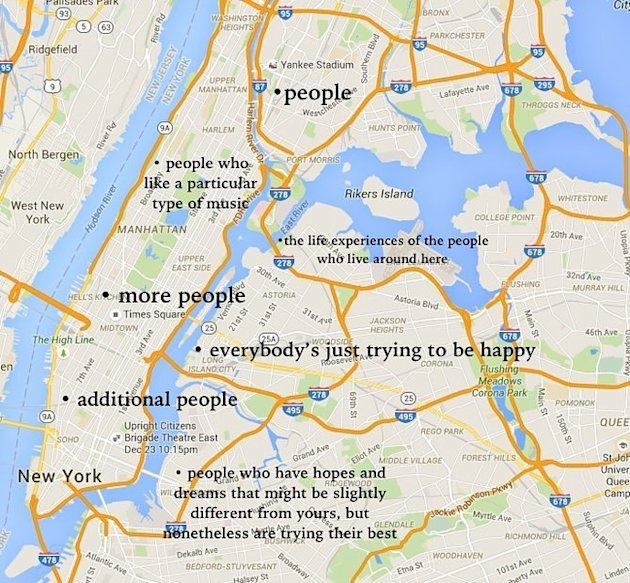 This Judgmental Map Shows Who Really Lives In Your City