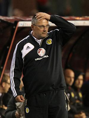 Craig Levein is under pressure after Scotland's poor results recently