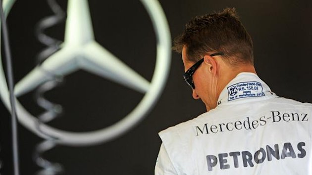 2012 Canadian GP Mercedes Schumacher
