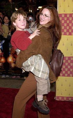 Premiere: Melissa Gilbert and son at the Westwood premiere of Warner Brothers' Harry Potter and The Sorcerer's Stone - 11/14/2001