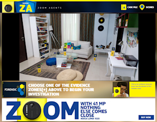 Nokia India Promotes Lumia 1020 By Asking Fans To Be Zoom Agents And Solve Crimes image Nokia Zoom agents casefile
