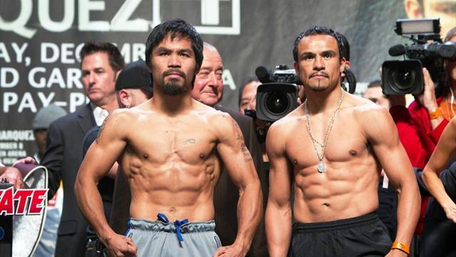 Boxing - Pacquiao gets Romney pep talk before Marquez bout