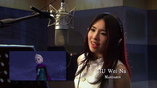 'Frozen' Clip: 'Let It Go' Behind the Mic