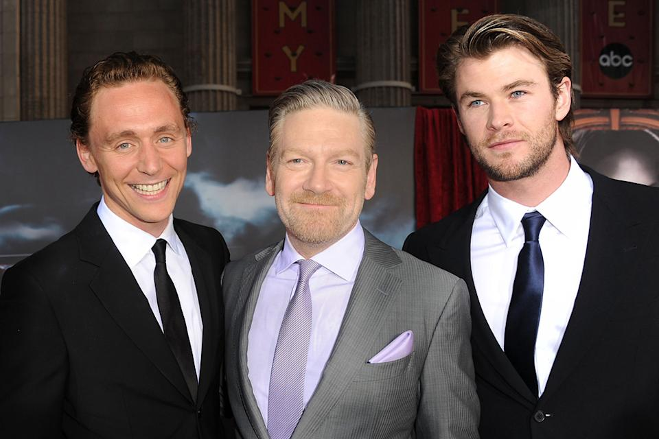 Thor LA Premiere 2011 Tom Hiddleston Kenneth Branagh Chris Hemsworth
