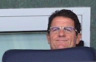 Italian football coach Fabio Capello attends a match of Russia's Premier League between CSKA Moscow and Rostov on July 21 in Moscow. Capello is expected to sign a contract with the Russian Football Union to head the national squad