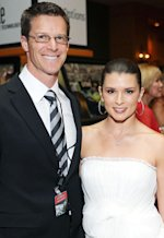 Paul Hospenthal and Danica Patrick | Photo Credits: Stefanie Keenan/Getty Images