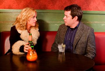 Brittany Snow and Matthew Broderick in Magnolia Pictures' Finding Amanda