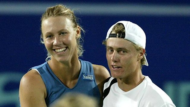 Lleyton Hewitt and Alicia Molik