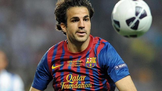 Premier League - Barca claim United give up on Fabregas
