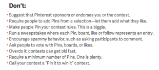 10 Fatal Pinterest Mistakes You Are Probably Making image Pinterest contest guidelines