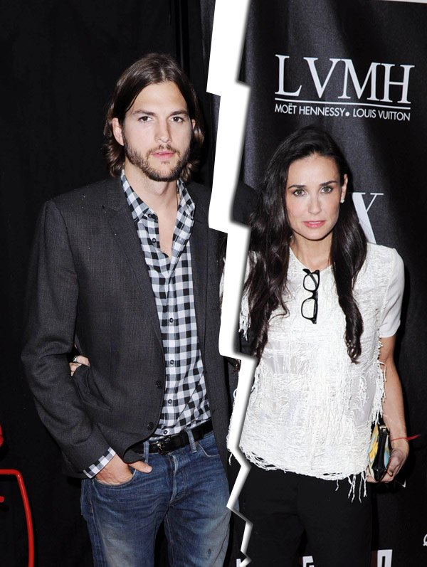 Demi Moore & Ashton Kutcher Together Again — Calling Off Divorce?