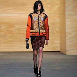 Proezna Schouler: Runway: A/W12: Oriental Influence: Fashion Trend