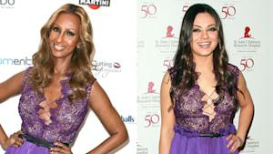 Who Wore It Better? Iman vs. Mila Kunis