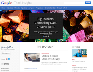 Google Unveils Powerful Marketing Tool, Think Insights image Google Think Insights