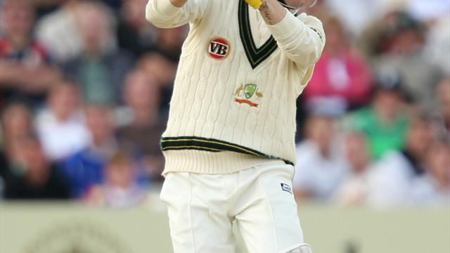 Cricket - Another ton for Clarke