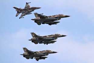 Israeli F-16. Is Israel preparing to attack Iran?
