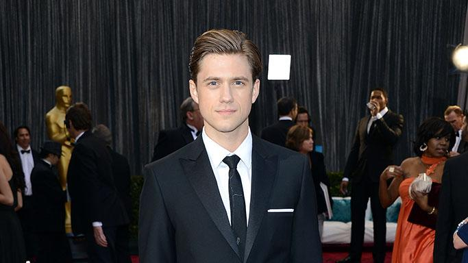85th Annual Academy Awards - Arrivals: Aaron Tveit