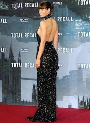 Jessica Biel's Backless Black Premiere Gown: Love It or Hate It?