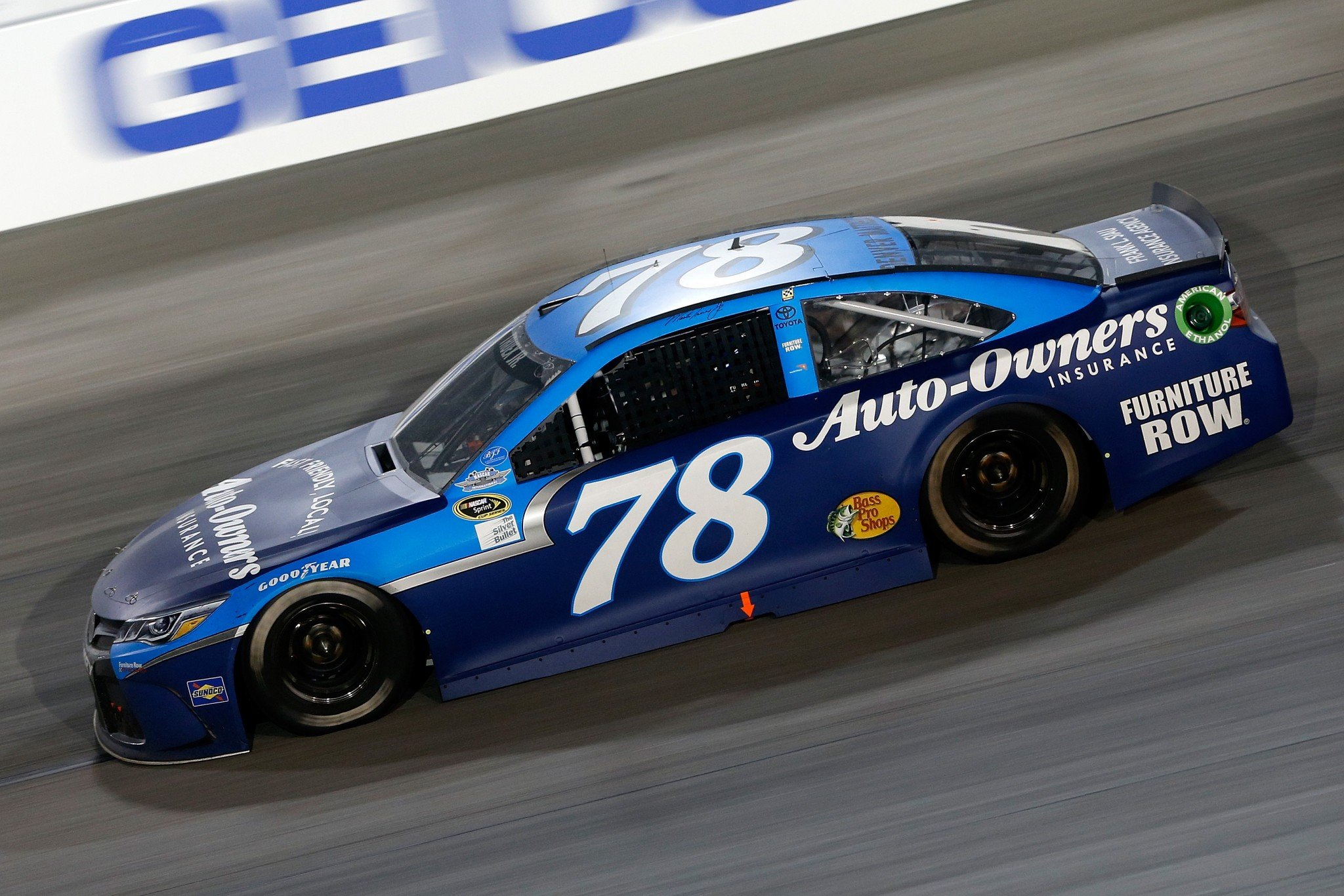 Martin Truex Jr. led 28 laps Sunday night at Darlington (Getty Images).