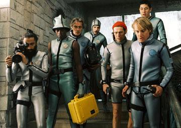 Warus Ahluwala , Seu Jorge , Pawel Wdowczak , Noah Taylor , Willem Dafoe and Owen Wilson in Touchstone Pictures' The Life Aquatic with Steve Zissou