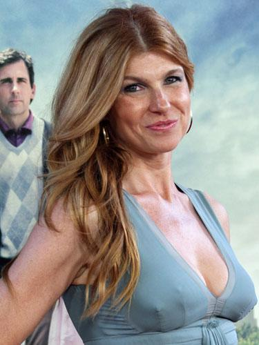 Long hair: Connie Britton
