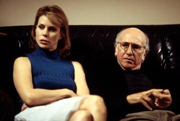"Cheryl Hines and Larry David HBO's ""Curb Your Enthusiasm"" Curb Your Enthusiasm"