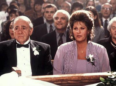Michael Constantine and Lainie Kazan in IFC's My Big Fat Greek Wedding