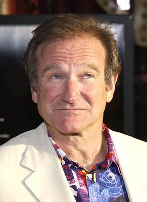 Robin Williams at the Hollywood premiere of Warner Brothers' Insomnia