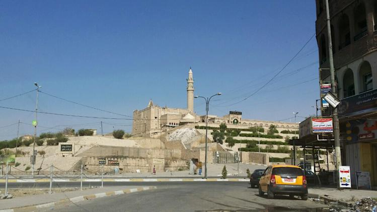 FILE - In this Saturday, July 19, 2014 file photo, the Mosque of The