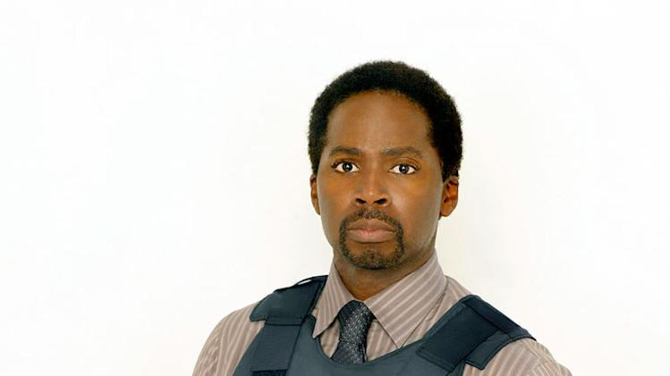 "Harold Perrineau as Detective Leo Banks in ""The Unusuals."""