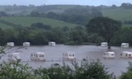 Rescue Mission After Major Flooding In Wales