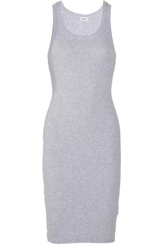 Splendid Ribbed cotton-jersey tank dress, $57, at Net-a-Porter