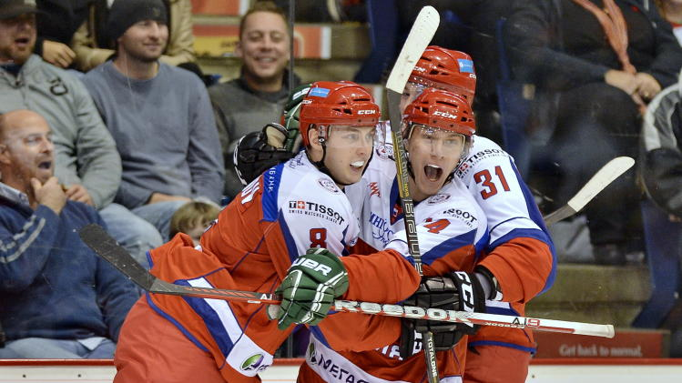 Team Russia in the 2012 Subway Super Series