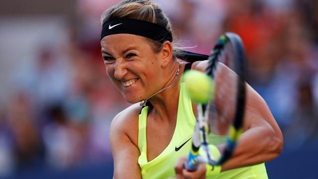 Tennis - Azarenka battles past Kerber in Istanbul