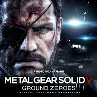 Hideo Kojima Metal Gear Solid V Ground Zeroes | Cover Art