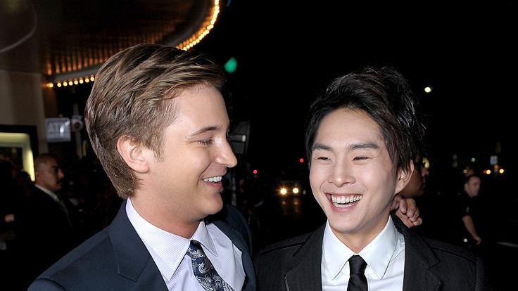Twilight Saga New Moon LA Premiere 2009 Michael Welch
