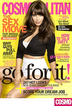 Kim Kardashian's Gorgeous Cosmopolitan Cover: All the Details
