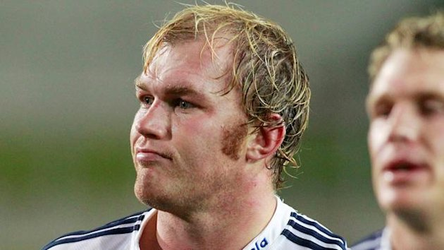 Schalk Burger of South Africa's Stormers reacts after losing to New Zealand's Chiefs
