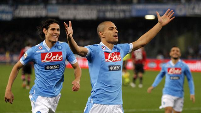 Serie A - Inler 'totally committed' to Napoli
